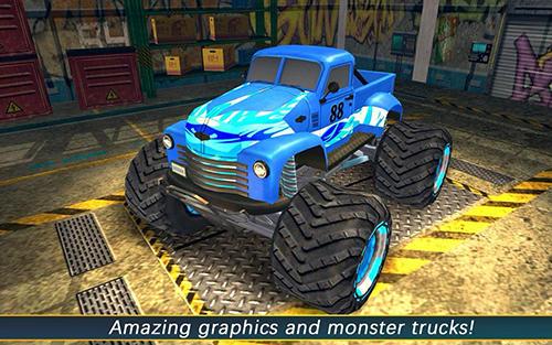 Rennspiele AEN monster truck arena 2017 für das Smartphone