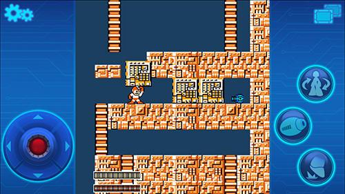 Arcade-Spiele Megaman mobile für das Smartphone