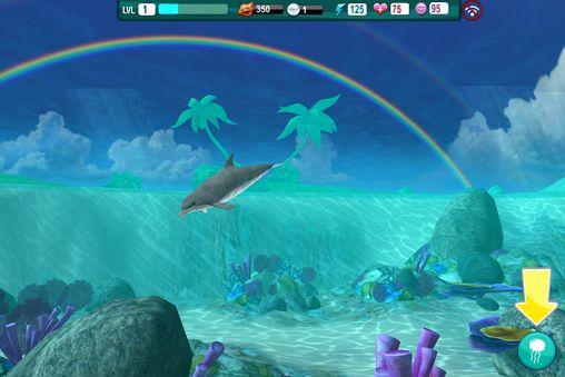 Simulator-Spiele: Lade Delphin Paradies: Wilde Freunde auf dein Handy herunter