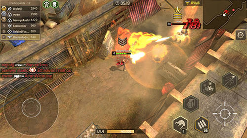 Shooter Counter storm: Endless combat auf Deutsch