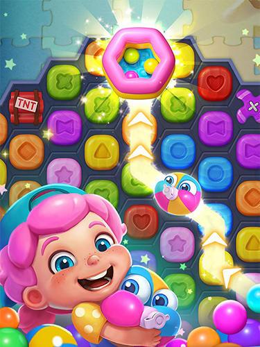 3 Gewinnt-Spiele Toy party: Dazzling match 3 auf Deutsch