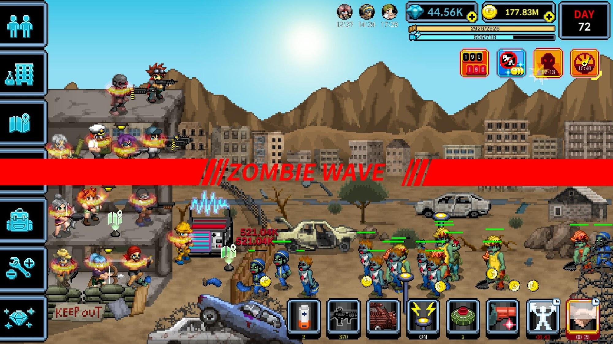 200 DAYS Zombie Apocalypse captura de tela 1