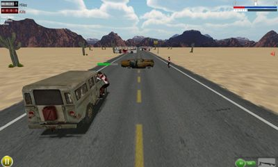 Drive with Zombies screenshot 1