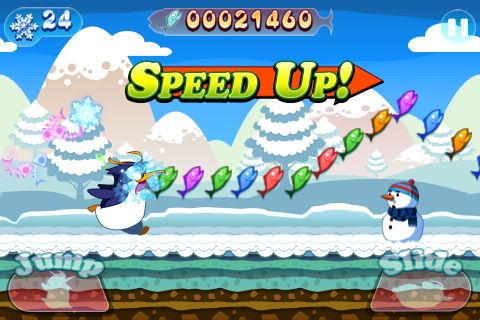 Dash! Dash! Pengy for iPhone for free