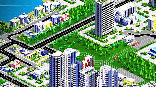 Strategie Designer city 2 für das Smartphone