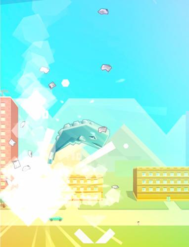 Arcade Ookujira: Giant whale rampage für das Smartphone