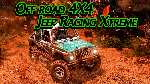 Off road 4X4 jeep racing Xtreme 3D captura de tela 1