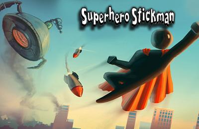 logo Strichmännchen Superheld