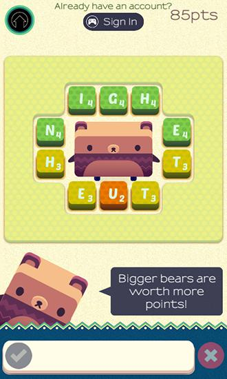 Alphabear: English word game für Android