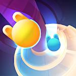 Wacky stars: Multiplayer spiral jump arcade Symbol