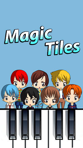 Magic tiles: BTS edition Screenshot