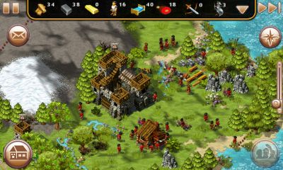 Online games The Settlers HD for smartphone