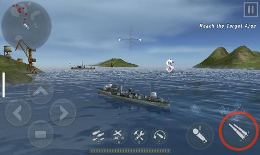 Warship battle: 3D World war 2 screenshot 1