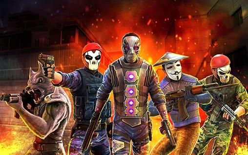 Shooter games Smokehead: FPS multiplayer in English
