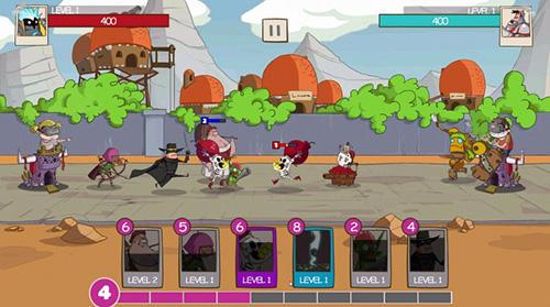 Strategiespiele Tower crush: Castle crush, tower conquest für das Smartphone