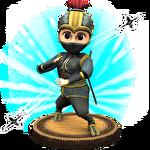 Ninja blades: Brim run 3D Symbol