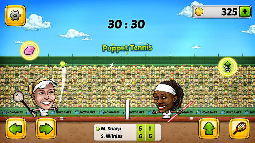 Puppet tennis: Forehand topspin pour Android