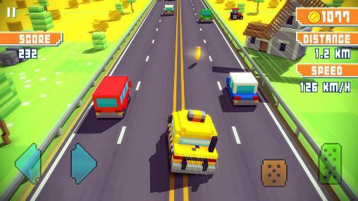 Arcade Blocky highway für das Smartphone