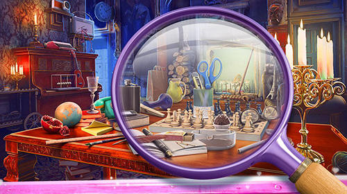 Vampire love story: Game with hidden objects скриншот 1