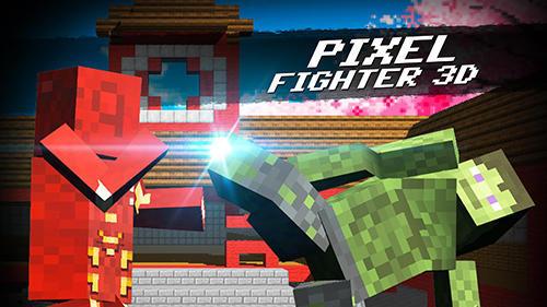 Cube pixel fighter 3D Screenshot