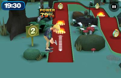Спортивные игры: скачать 3D Mini Golf Challenge на телефон