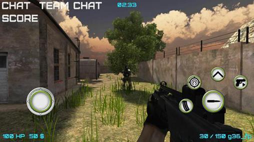 Jogos de tiro Modern wars: Online shooter em portugues