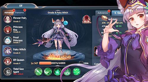 RPG-Spiele Soul destiny für das Smartphone
