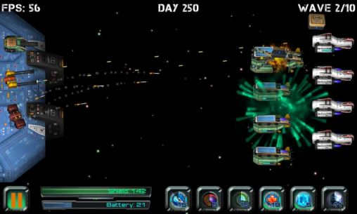 Space station defender 3D für Android