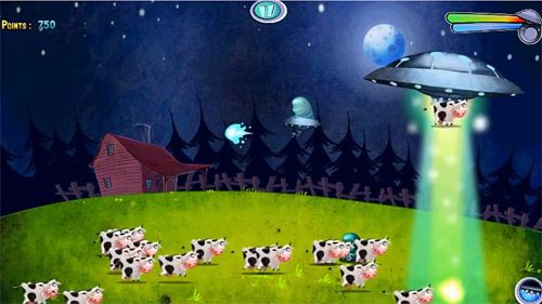 Screenshot Invasion: Alien attack on iPhone