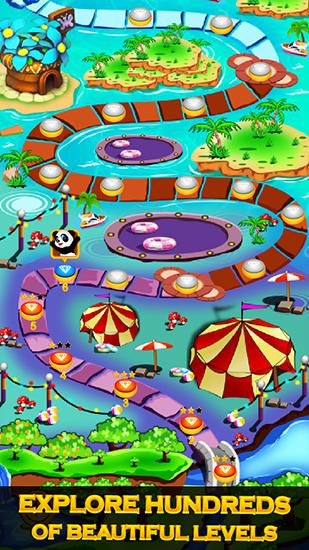 Match 3 games Jewel quest in English