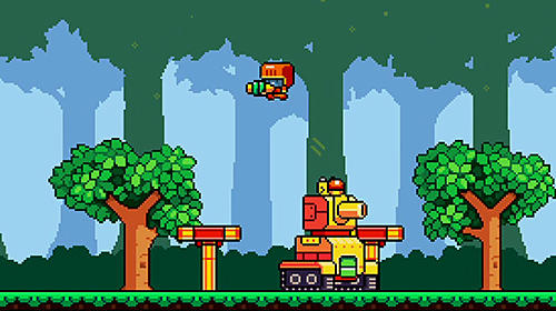 Rumble squad: Pixel game para Android