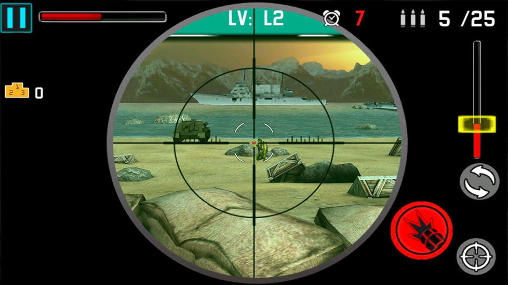 Shooting range games Fire power 3D in English