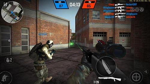 Fuerza de la bala para iPhone gratis
