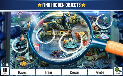 Abenteuer-Spiele Hidden object: Enchanted castle für das Smartphone