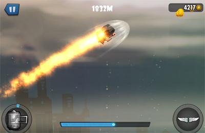 Screenshot Mini Glider auf dem iPhone