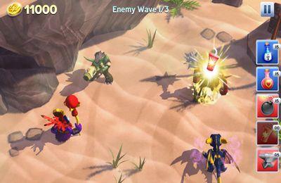 Screenshot Schlachtfelder der Luftkämpfer auf dem iPhone