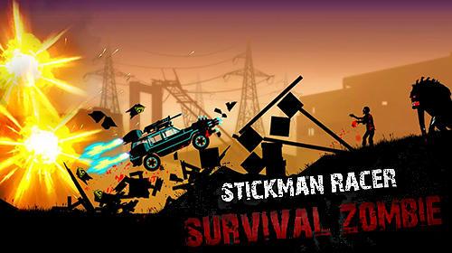Stickman racer: Survival zombie Screenshot