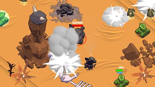 Action Crash of tanks online für das Smartphone