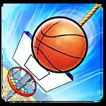 Basket fall icon