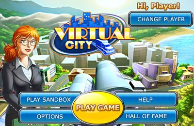 Strategy games: download Virtual city to your phone