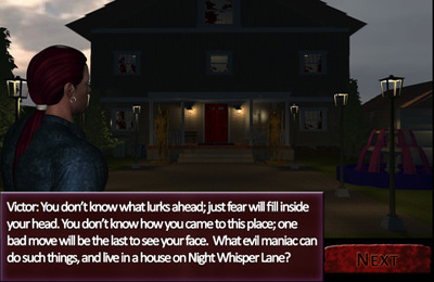 Action games: download Night Whisper Lane to your phone