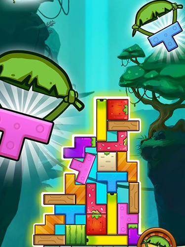 Puzzle stack: Fruit tower blocks game für Android
