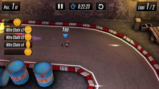 Screenshot Touch Rennen 2 auf dem iPhone