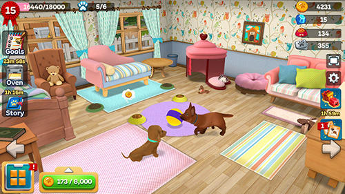 Lovely pets: Dog town英语
