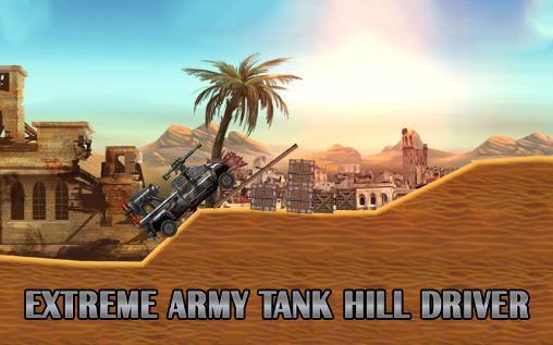 Extreme army tank hill driver Screenshot
