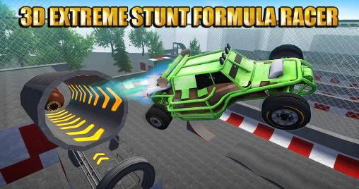 3D extreme stunt: Formula racer icon