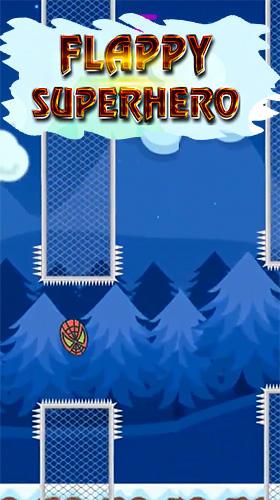 Flappy superhero Screenshot