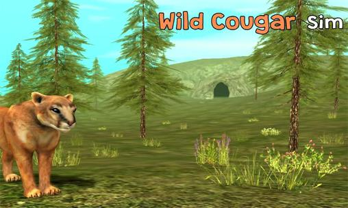 Wild cougar sim 3D capture d'écran 1