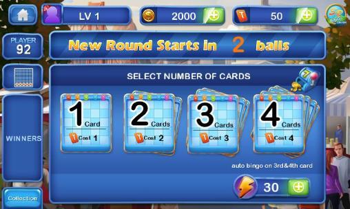 Bingo crush: Fun bingo game für Android