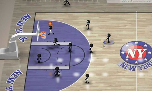 Stickman basketball screenshot 2